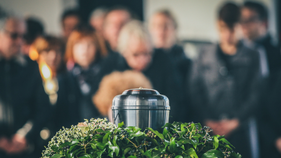 funeral service woodland burial interment cremation Chesterfield