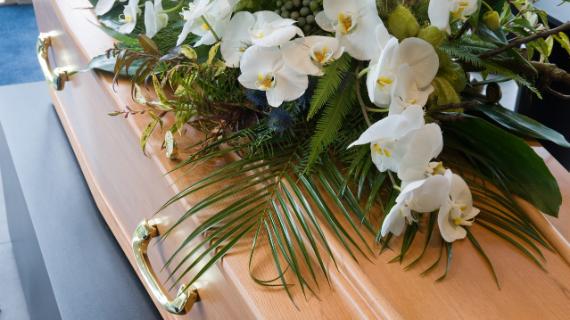 coffins funeral directors Derbyshire